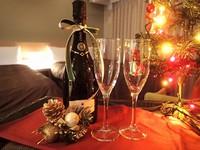 【誕生日や記念日に】スパークリングワイン&ケーキをお部屋で堪能【朝食付】