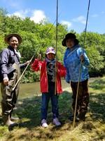 知床釣り体験【渓流釣りガイド付き宿泊プラン】※釣りガイド料金は別途かかります
