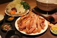 ズワイガニまんぷく蟹プラン【蒸しガニ・カニ鍋】(1人1.5杯)【朝夕2食付】