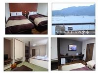 ◆浴室から瀬戸内海・宮島が望め潮風を感じる贅沢な部屋