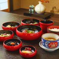 【朝食付】お部屋で精進料理「鉄鉢朝食」を食べて一日をスタート!