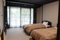 洋室【201号室】穏やかな湾を一望する部屋・テラス