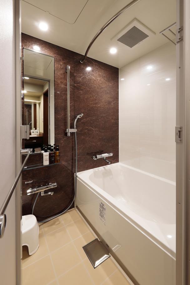 『メルディア』ってどんなホテル?週末体験グループプラン。バス・トイレ・洗面台別。『エアウィーブ』体験
