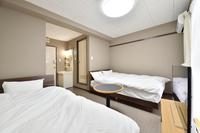 【秋冬旅セール】【ツインベット】天然温泉の大浴場も無料☆☆泊食分離スタイル