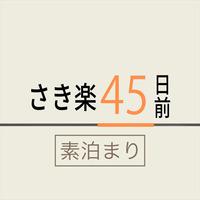 【さき楽45】◇朝食なし◇早期予約45日前プラン■全室禁煙■