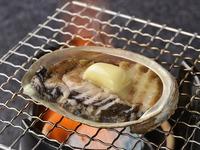 【伊豆の贅沢料理】あわびのバター焼付きバイキングプラン