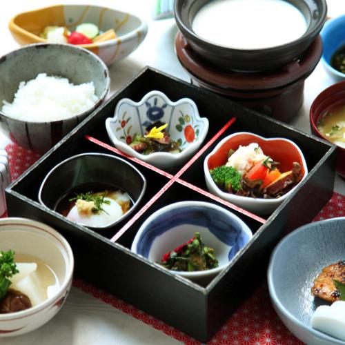 【1泊朝食付/客室WIFI可】健康一番★素材重視の和定食★プラン