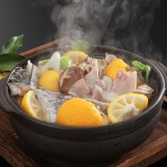 冬野菜と寒魚☆料理宿の味わいコース〜山口海の幸、山の幸を堪能〜