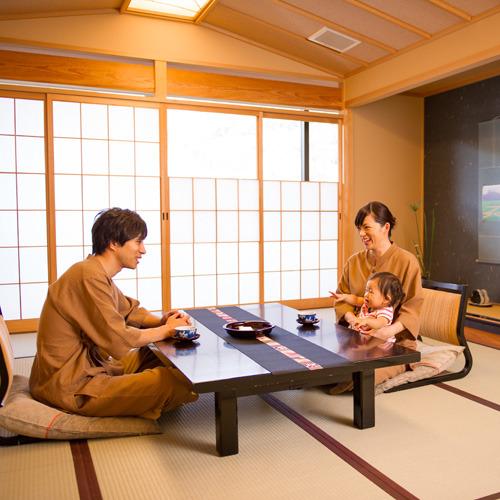 【添い寝無料】平日限定☆家族でのんびり貸切露天風呂プラン♪