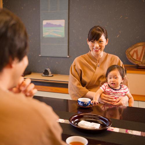 【赤ちゃん歓迎】ママも安心、ベビママプラン☆貸切露天風呂45分サービス