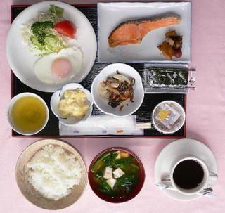 朝食付きシングル♪