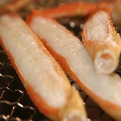 紅白のカニを食べ比べ!珍しい白カニを食す!!カニ食べ放題プラン≧[゜▽゜]≦