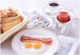 【プライベートタイム】優雅な朝をルームサービス!