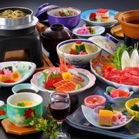 迷ったらコレ!『季の膳!和牛すき焼き付き基本プラン』/2食付