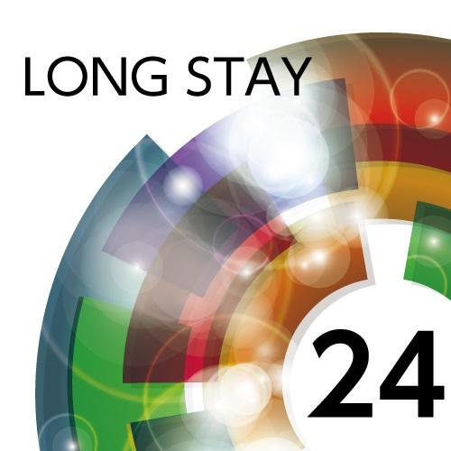 【ロングステイ】13時チェックイン〜翌日13時チェックアウト 最大24時間滞在可能