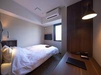 【12平米/ベッド幅140cm】スマートシングル2名利用
