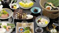 【貴船「きらく」の夕食付】◆夏季限定◆「納涼川床料理」送迎付