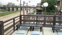 【「豆水楼 木屋町本店」での夕食付】◆夏季限定◆川床でいただく季節の豆腐コース料理