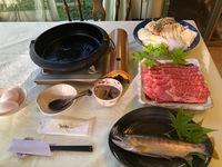信州牛のすき焼きコース