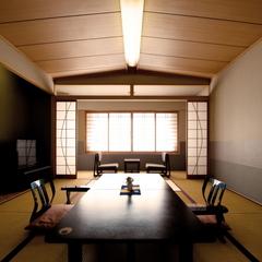 【禁煙】和室■夕食:3階「玻璃」