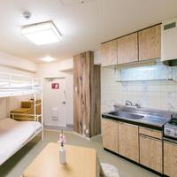 デラックスファミリールーム 専用バスルーム キッチン 禁煙室