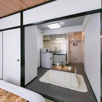 ダブルルーム 専用バスルーム キッチン 禁煙室