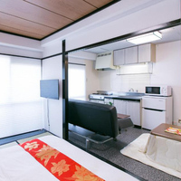 ファミリールーム 専用バスルーム キッチン 禁煙室