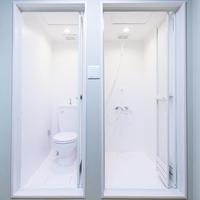 ダブルルーム 専用シャワールーム キッチン 禁煙室