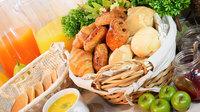 【朝9時のチェックアウトでお得に/ショートステイ】和洋ビュッフェでは厳選料理をご提供(朝食付)