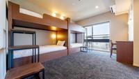 【2段ベッド2台】ファミリーデラックス 46平米の広いお部屋