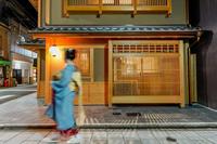【着物レンタル付き】600着の着物からお好きなコーディネートを♪着物で京都観光を楽しもう(素泊まり)