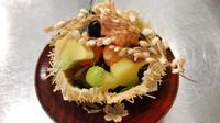 【夕食付◆京懐石コース】本格京料理「西陣魚新」。老舗の名店で旬の味覚を堪能できるオリジナルコース