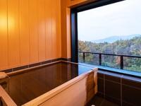 【1泊2食付】<ご夕食 創作料理>100%源泉かけ流し檜内風呂付客室で過ごす癒し旅を・・