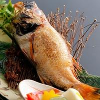 <お料理重視プラン>有名テニスプレイヤーが食べたい!と絶賛した高級魚「のどぐろ」つき会席