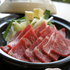 大人気!牛肉陶板焼き定食プラン(2食付き
