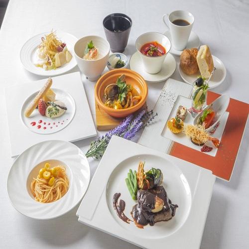 【楽パック】≪イタリアンディナーコース付プラン≫〜夕食・朝食付〜
