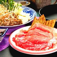 ●厳選近江牛使用●とろける脂が絶品の近江牛会席。しゃぶしゃぶorすき焼きセレクト!