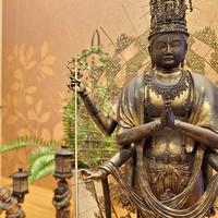【イSム(イスム)監修】仏像ワールド!仏像と過ごすお部屋《和空法隆寺参拝券付き&門前懐石》