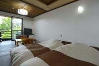 檜露天+寝湯付きのお部屋