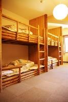 Log Bed Mixed Dormitory Room