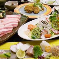 【平日限定】スタミナたっぷり!黒豚の石焼コースプラン(2食付)