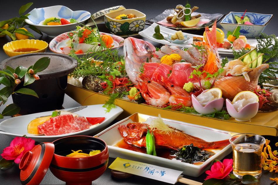 【一番No.1】お食事評価★5つ!!迷ったらコレ!旬感!月浜海食膳