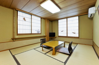 【浜の館】 和室10畳 風呂無 海側ではありません(禁煙)