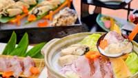 【夕食・朝食付】令和3年卒業旅行に『飲み放題』特典付 播磨灘産天然鯛と赤穂産カキの豆乳鍋御膳
