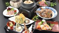 【広島県産牛付☆厳島会席】お肉好きにお勧め!牡蠣+穴子+鯛のかぶと煮も味わえるよくばり会席◆個室確約