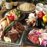 BBQ「白金イマカラ」で手ぶらBBQ!A5黒毛和牛やラムチョップ等々贅沢BBQコース(ホテル朝食付)