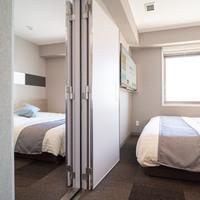 ■朝食付き■つながるコネクティングルーム(ダブル2室)