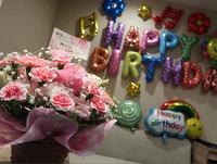 【カップル・Wサプライズプラン】お誕生日にバルーン&お花で驚きの演出!!【素泊り】大浴場・露天風呂
