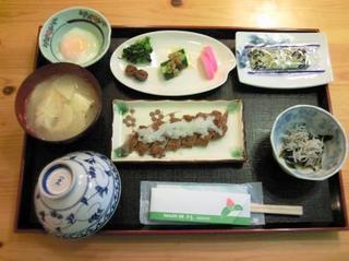 宇和島名産じゃこ天or焼き魚チョイス朝食付きプラン