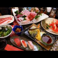 【スタンダード】新鮮な魚介類と地元産の食材を使ったお料理プラン◆天然温泉と一緒に白老旅を満喫